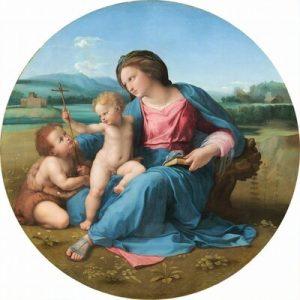 Alba Madonna, lukisan karya Raphael