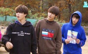 Jimin, V dan Jungkook BTS