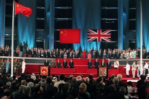 Upacara Penyerahan Hong Kong pada tahun 1997