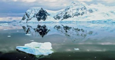 Antartika, Benua Terkering di Dunia