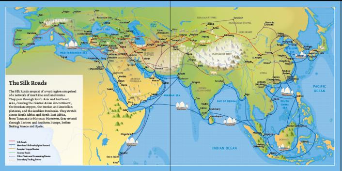 Jalur Sutera, Jalur Bersejarah yang Menghubungkan Dunia
