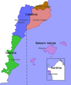 Bahasa Valencia dan Catalan