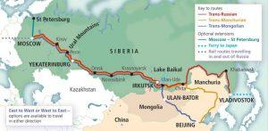 Jalur Kereta Terpanjang